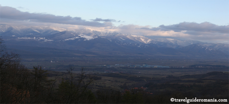 Codru Moma mountains - sub-unit of Apuseni mountains