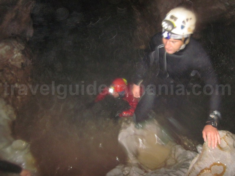 Caving in Cetatile Ponorului - Apuseni Natural Park