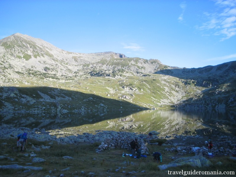 Bucura lake - National Park of Retezat mountains