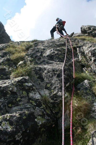 Climbing in Retezat Mountains
