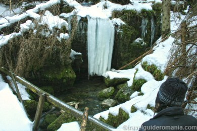 Blue spring of Iza - Rodnei mountains