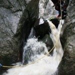canyoning at Tasna canyon - Herculane area
