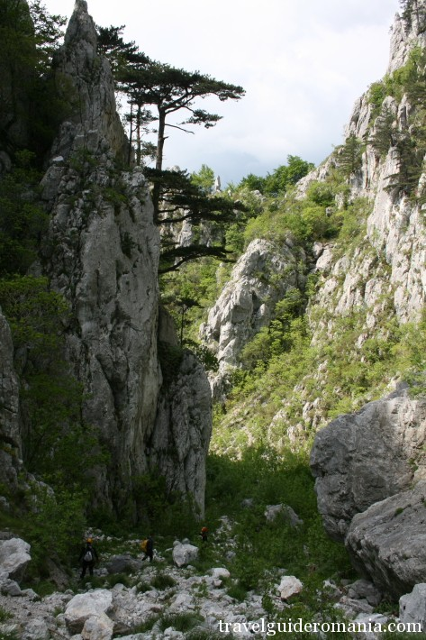 limestone lanscape at Domoglet Natural Park