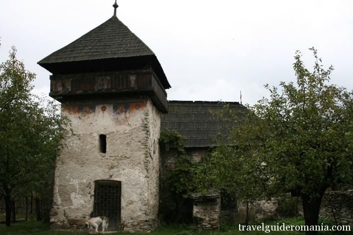 Parvalestilor church - Baru Mare town