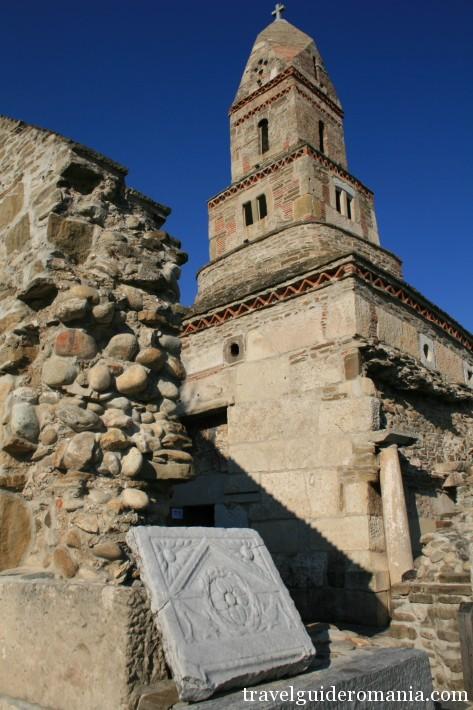 Saint Nicholas church - at Densus