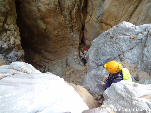 Visiting Bihorului mountains - Dry valley canyon