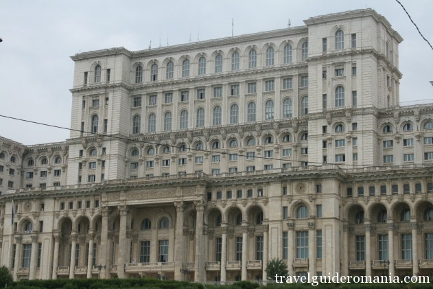 architecture in Romania - Palace of Parliament