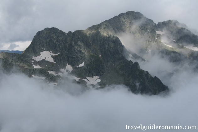 second highest peak in Fagaras mountains - Negoiu 2535 m