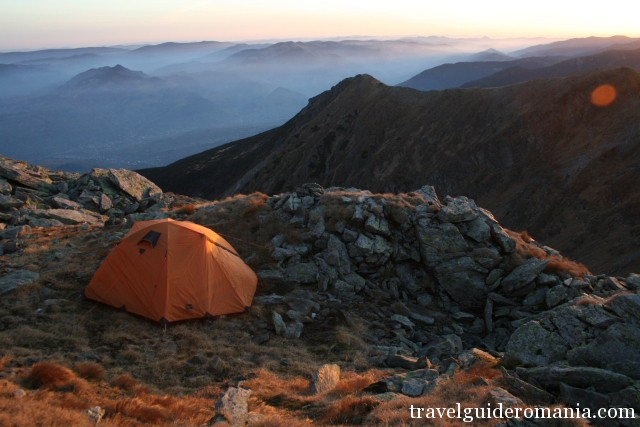 Camping in Rodnei mountains