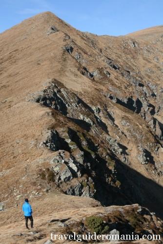 highest peak in the Eastern Carpathians - Pietrosul peak