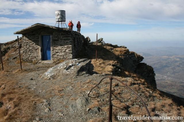 on Pietrosul Rodnei peak - 2303m