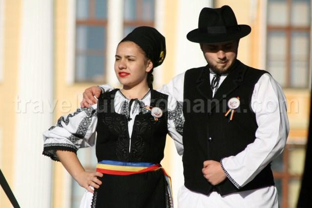 Traditional singers al Alba Iulia