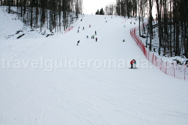 Ski slope at Suior - Maramures