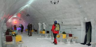 Balea Ice Hotel - Fagaras mountains