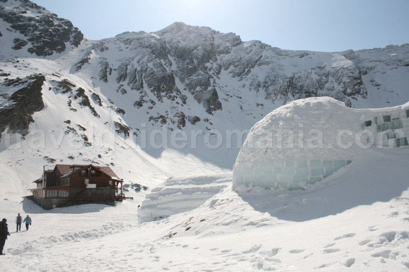 Balea Lac Chalet and the Ice Hotel