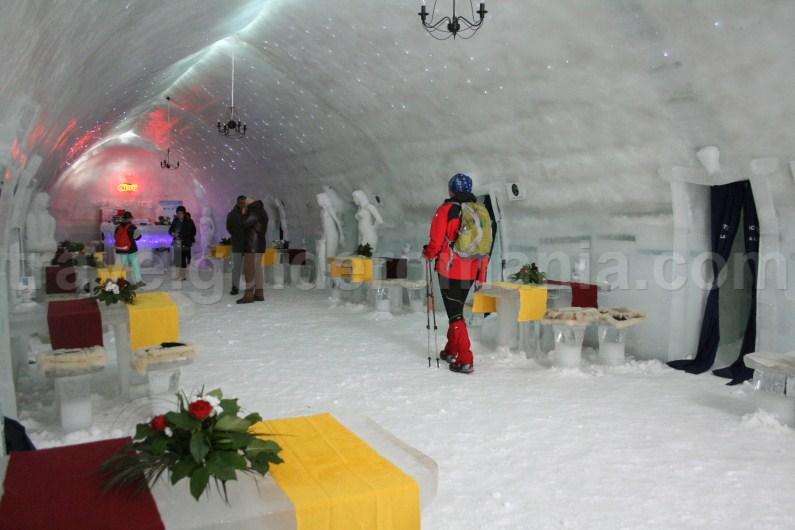 Balea Lac Ice Hotel - discover Romania