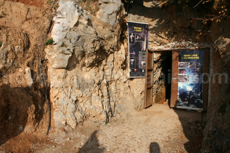 Entrance of Farcu Mine at Rosia village