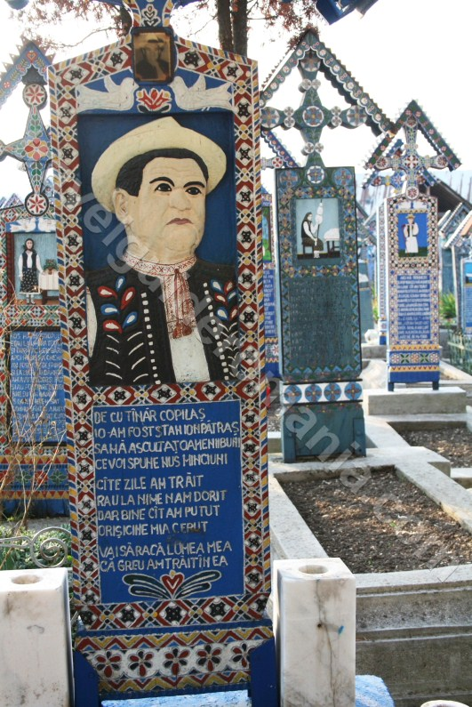 Artisan Ioan Stan Patras - creator of The Merry Cemetery