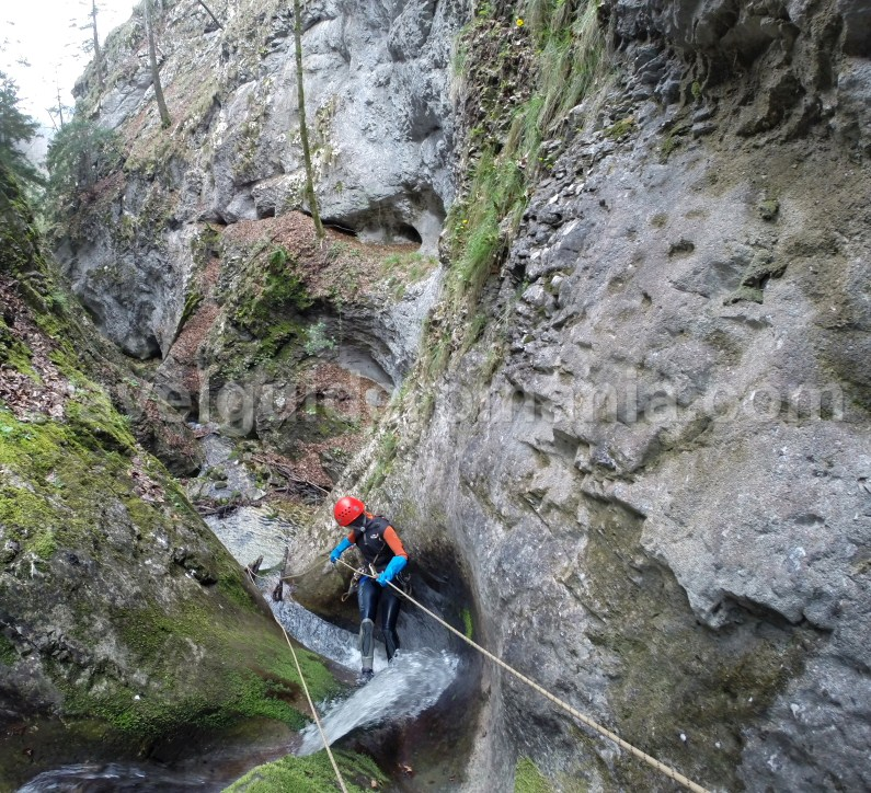 Canyoning in Apuseni mountains