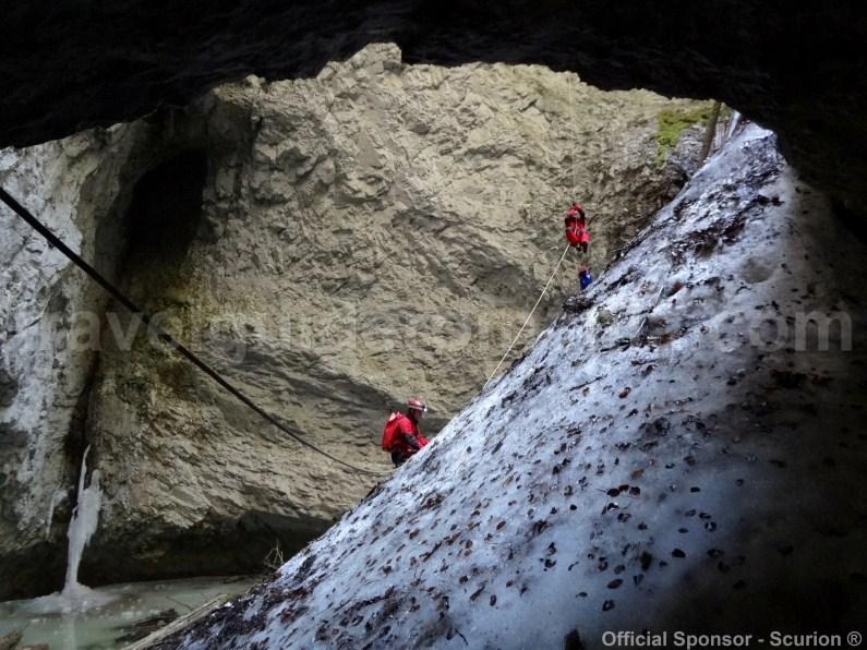 Bortig underground glacier - Apuseni Mountains -
