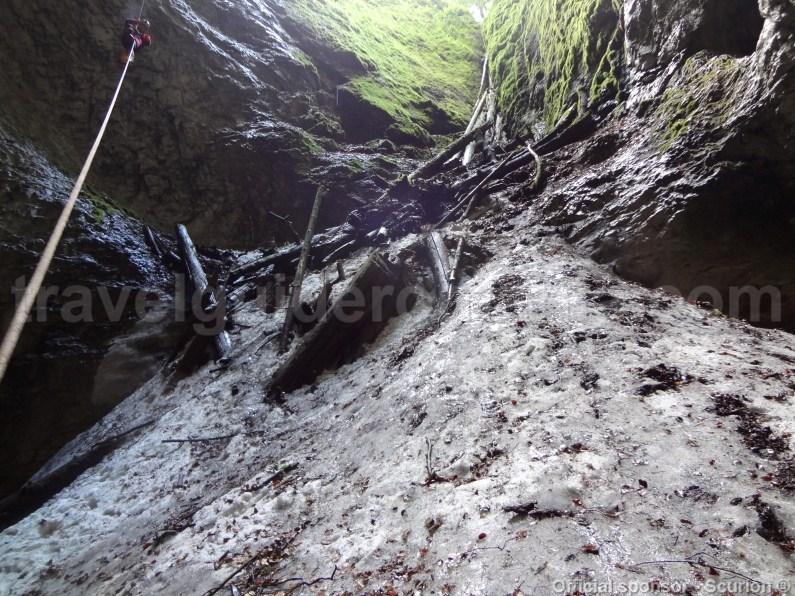 Bortig underground glacier - Apuseni Natural Park