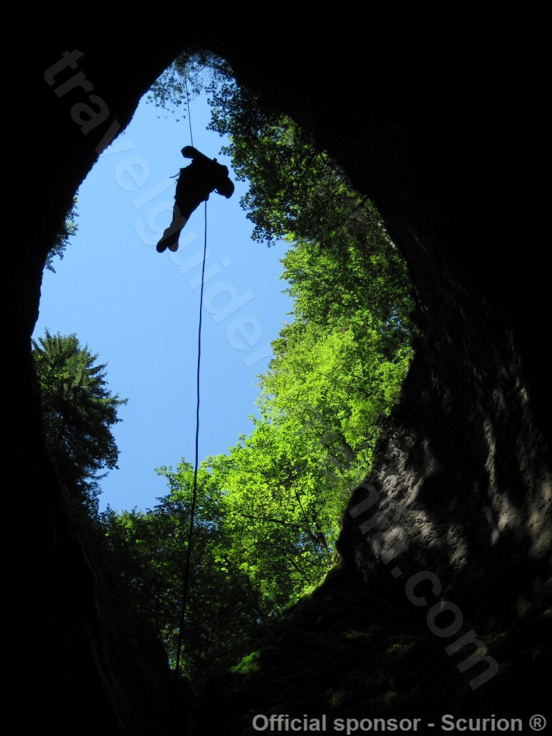 Caves from Romania - Bortig Pit Cave