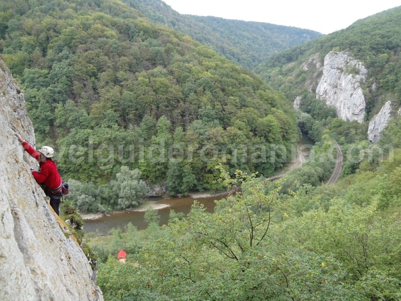 Climbing in Vadul Crisului - Apuseni Mountains