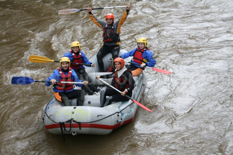 Rafting at Suncuius - Padurea Craiului mountains