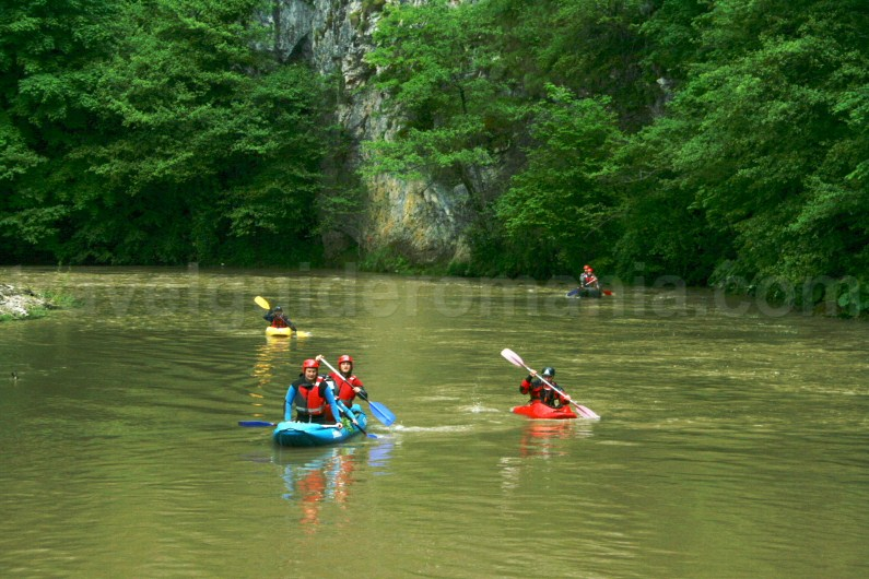 Rowing on Fast River (Crisul Repede) - Apuseni mountains