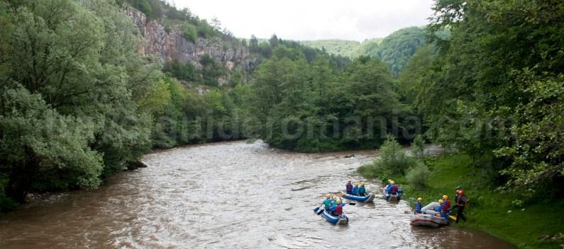 Water sport in Suncuius - Padurea Craiului mountains