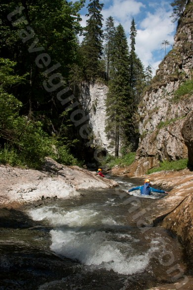 Body rafting in Apuseni - Somesul cald Gorges