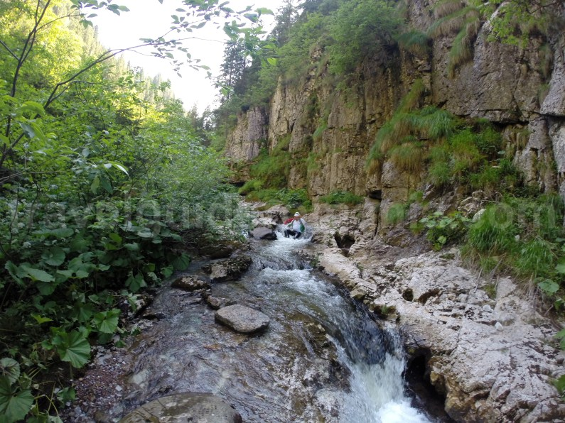 Body rafting in Romania - Somesul Cald Valley