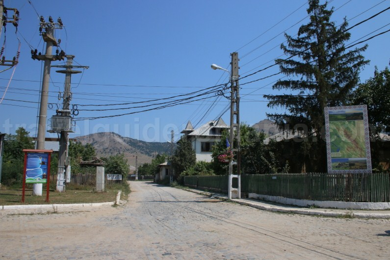 Access to Macin Mountains thru Greci village