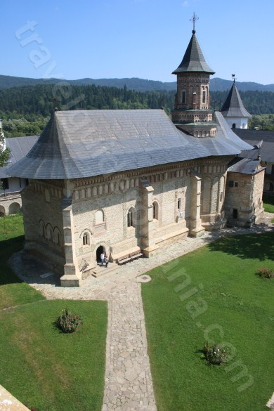 Church of Neamt Monastery buit by Stephen the Great (Stefan cel Mare)