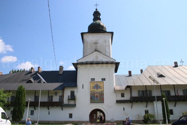 Entrance of Neamt Monastery in Moldavia (Moldova)