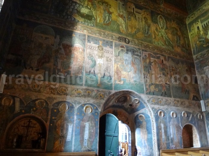 Inaltarea Domnului Church - interior paintings