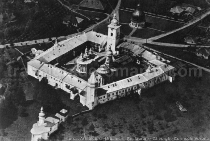 Neamt Monastery in Moldavia (Moldova) in 1920