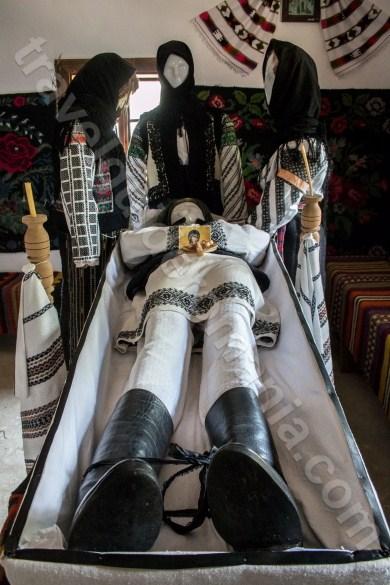 Burial rites in Bukovina - Moldova - Romania