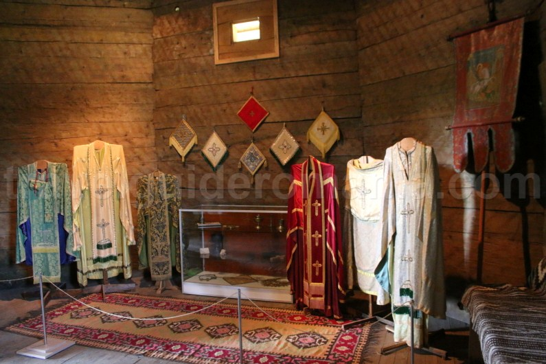 Ceremonial clothing used by romanian priests