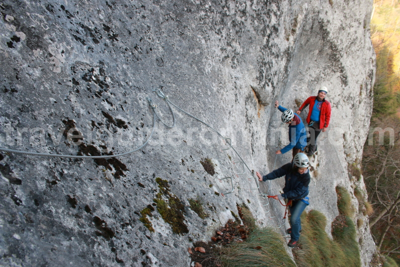 Adventure in Apuseni mountains - guided trips - Via ferrata