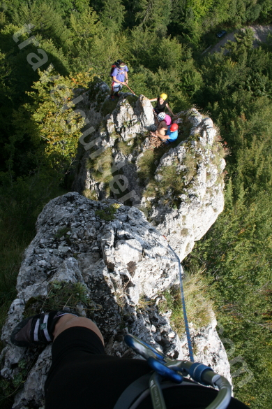 Climbing in Apuseni Mountains - Vartop area