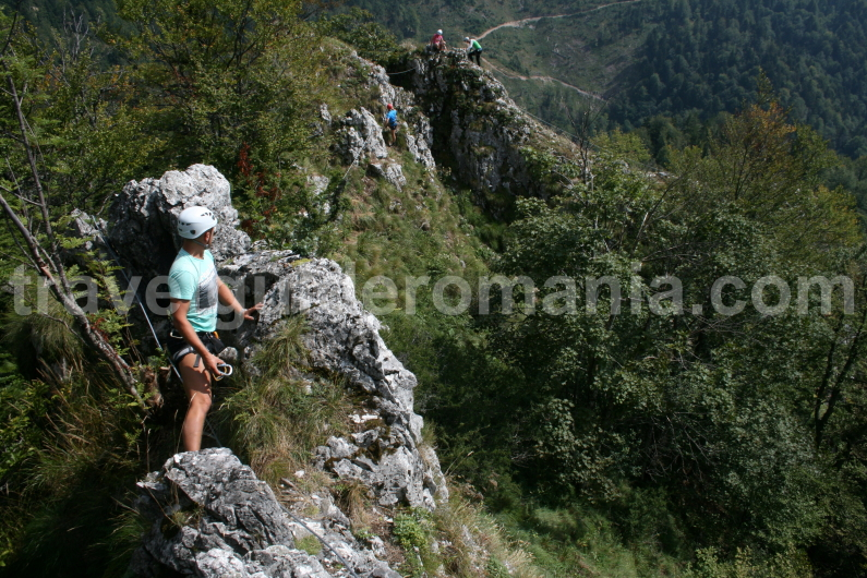 Discovering Apuseni mountains - Via ferrata track