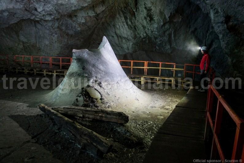 Scarisoara Ice cave - Romania - Apuseni