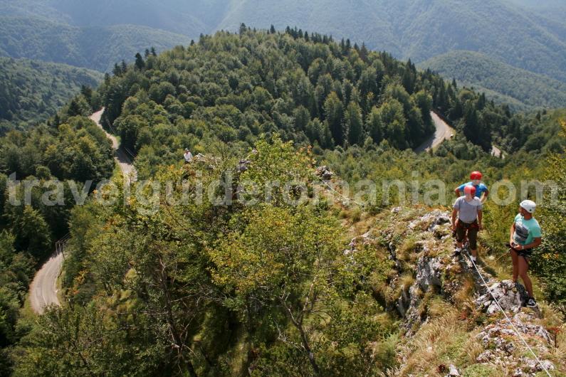 Via Ferrata route in Arieseni area - Vartop
