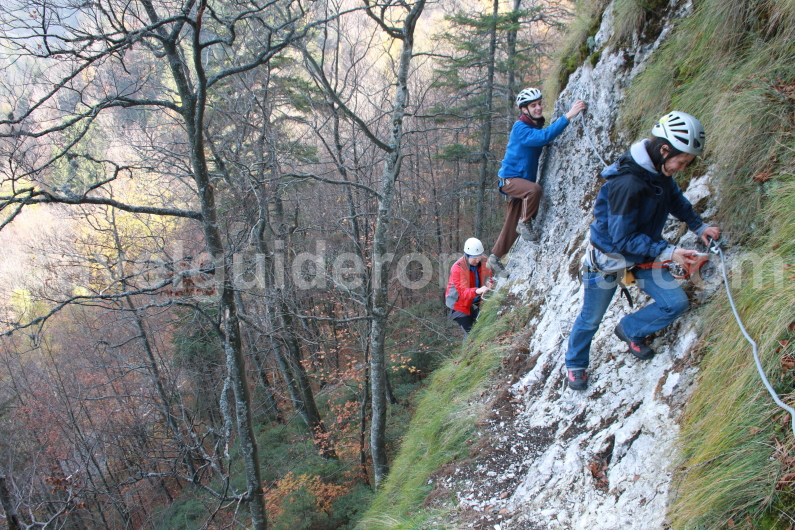 Via ferrata - Apuseni Natural Park