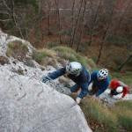 Via ferrata route at Pietrele Negre area – Arieseni