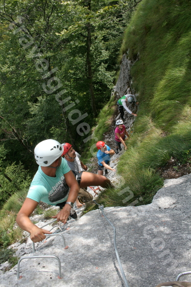 Via ferrata track in Romania - Arieseni - Vartop
