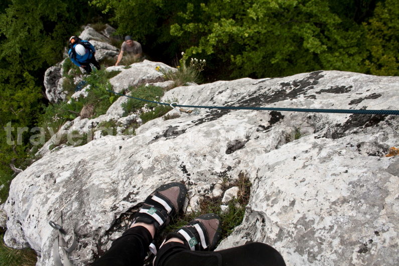 climbing with mountain guide in Romania