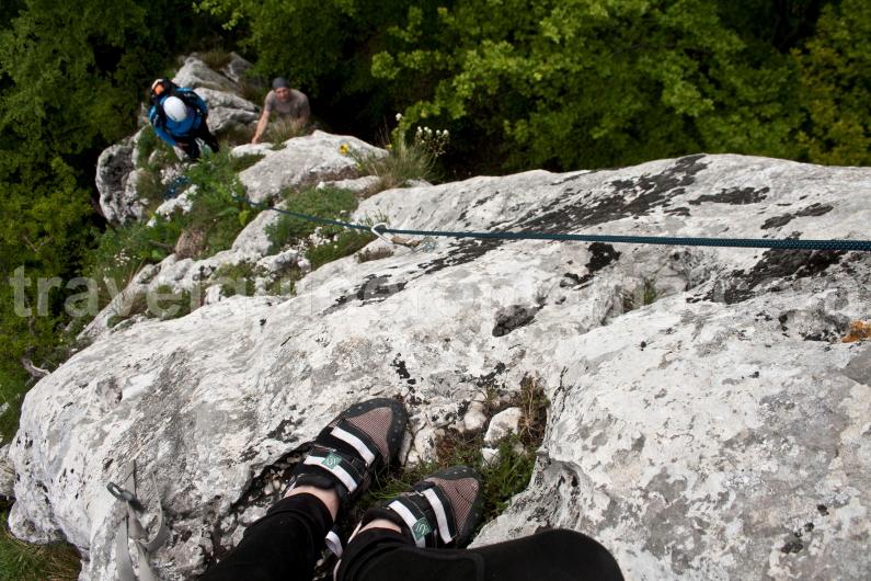 climbing with mountain guide in Romania
