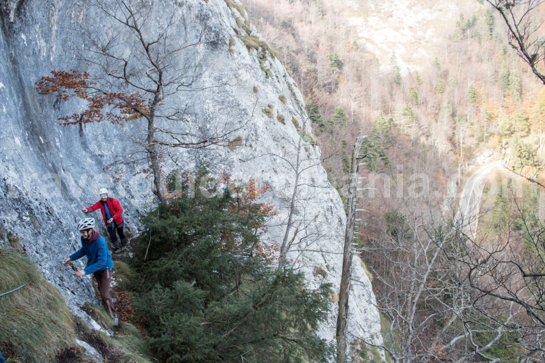 Via ferrata route - Arieseni - Vartop